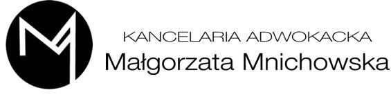 Kancelaria Adwokacka Małgorzata Mnichowska